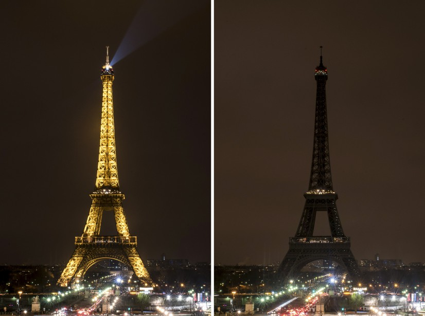 La tour Eiffel, à Paris (Associated Press)