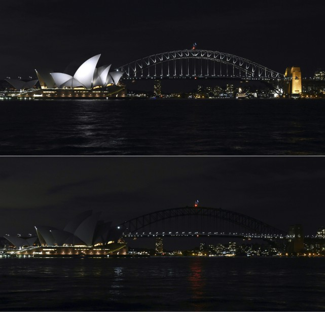 L'Opera House de Sydney, en Australie (Agence France-Presse)
