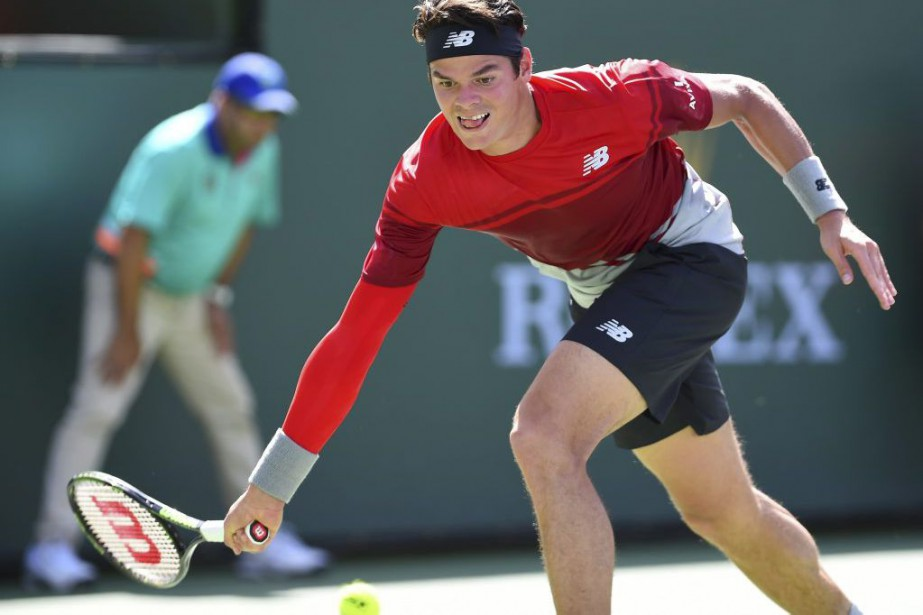 Milos Raonic s'est incliné contre Novak Djokovic en... (PHOTO ROBYN BECK, AFP)