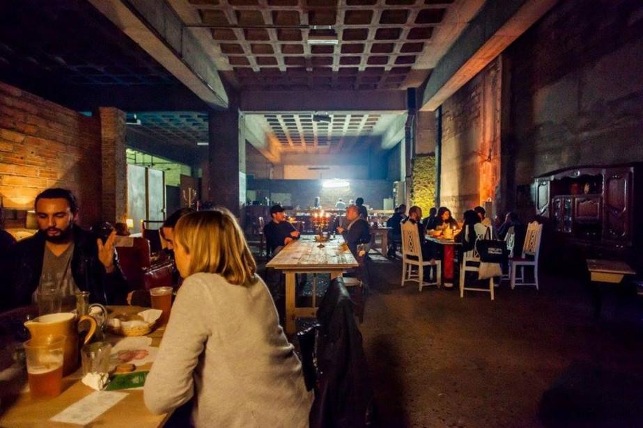 Ce restaurant «freegan» ou «déchétarien», qui propose un... (PHOTO FREE RUBENS, TIRÉE DE LA PAGE FACEBOOK DE FREEGAN PONY)