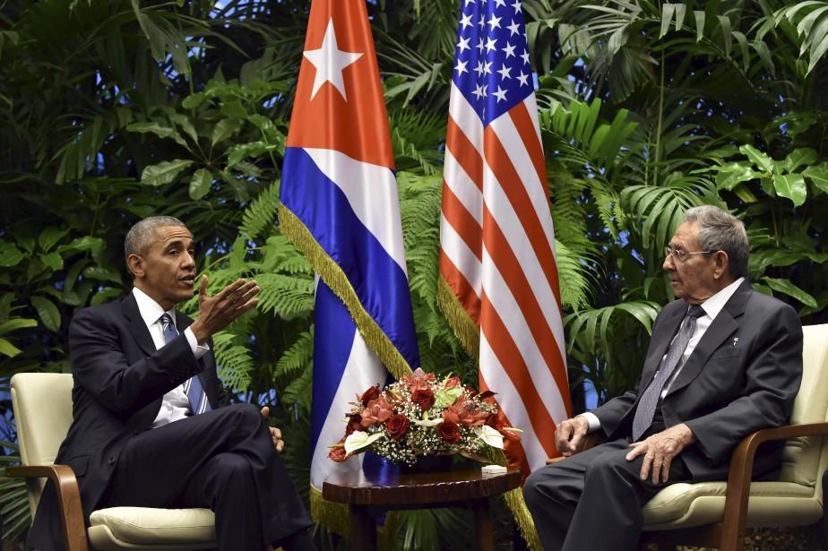 Le président des États-Unis, Barack Obama, a rencontré... (photo Nicholas Kamm, archives AFP)