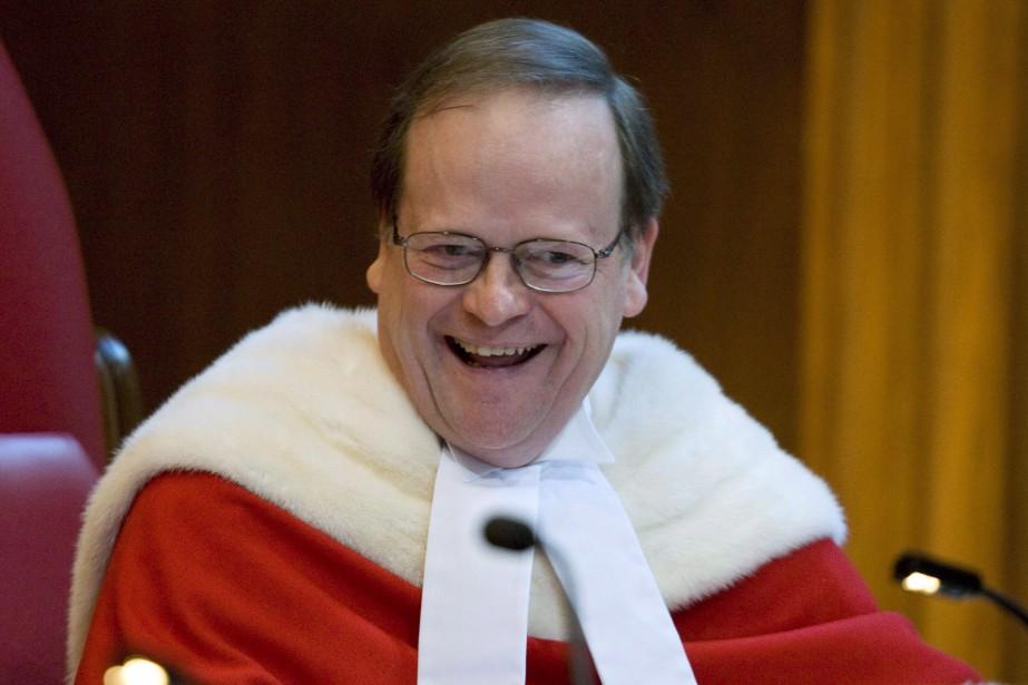 Le juge ThomasCromwell a annoncé mardi son intention... (PHOTO ADRIAN WYLD, ARCHIVES LA PRESSE CANADIENNE)