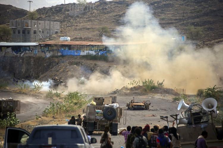 La coalition arabe intervient au Yémen depuis mars... (PHOTO AFP)