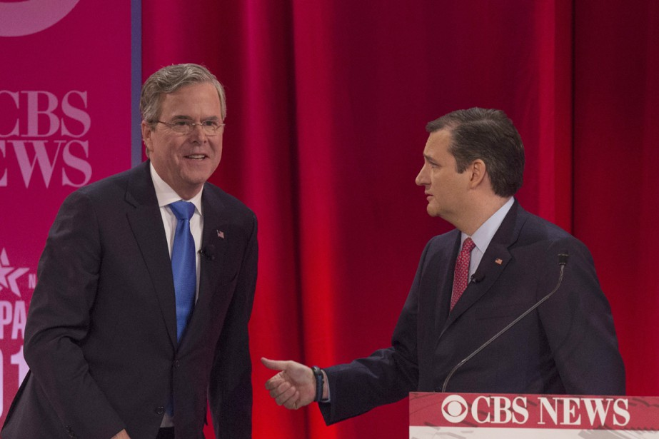 L'ex-gouverneur de la Floride et ancien candidat à... (PHOTO JIM WATSON, ARCHIVES AFP)