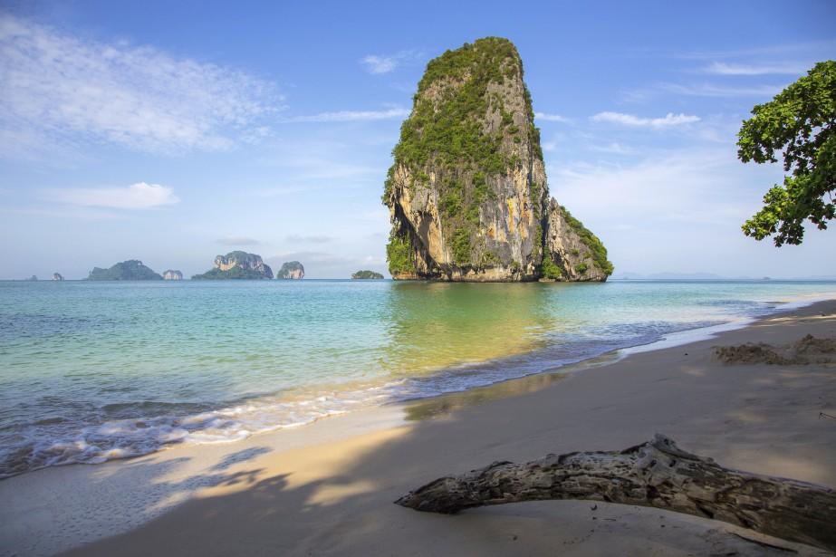 La plagede Railay, en Thaïlande.... (PHOTO THINKSTOCK)