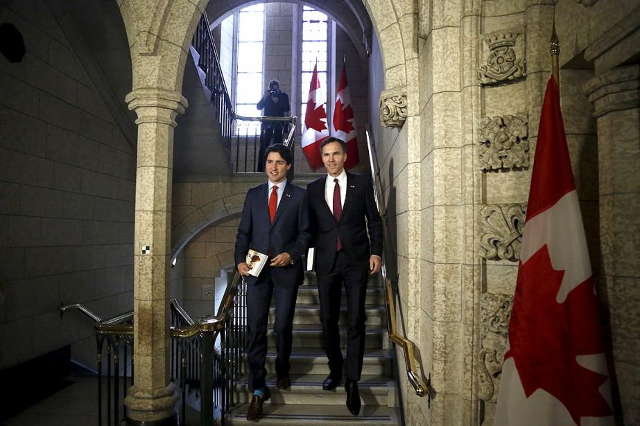 Lepremier ministre canadien Justin Trudeau a répété que... (Photo Patrick Doyle, Reuters)