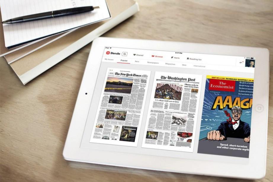 La plateforme néerlandaise Blendle, qui propose des articles de... (PHOTO AP)