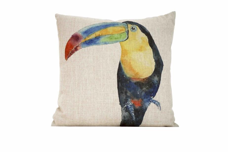 Coussin toucan, 25 $ chez Zone (Photo fournie par Zone)