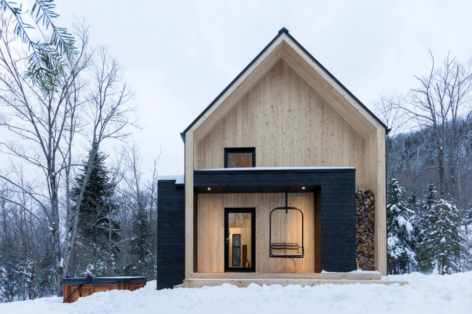Plan chalet scandinave