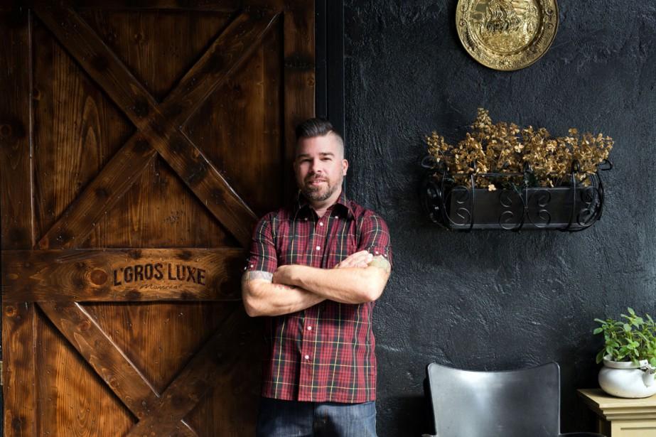Alex Bastide, propriétaire du L'Gros Luxe.... (PHOTO PATRICIA BROCHU, FOURNIE PAR L'GROS LUXE)