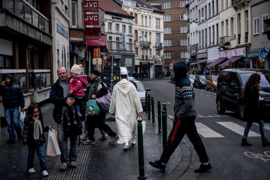 Molenbeek est une commune ouvrière de Bruxelles de... (PHOTO ANDREW TESTA, ARCHIVES THE NEW YORK TIMES)