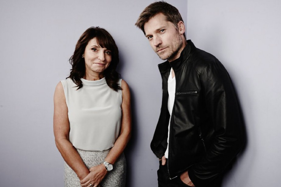La réalisatrice danoise Susanne Bieren compagnie de l'acteur... (Photo fournie par Maarten de Boer)