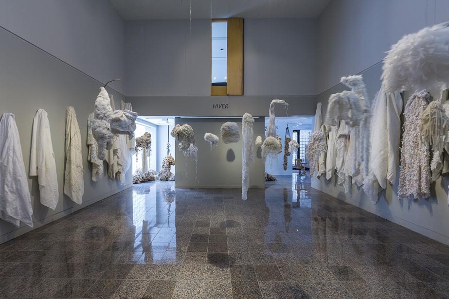 <em>Paysages-vêtements : hiver</em> (Photo René Bouchard)