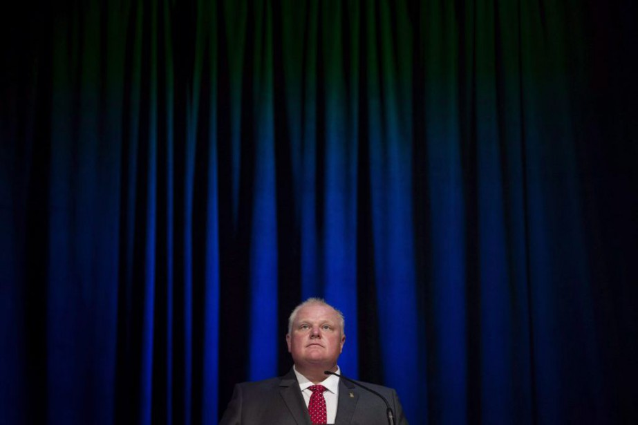 Rob Ford... (PHOTO DARREN CALABRESE, ARCHIVES LA PRESSE CANADIENNE)