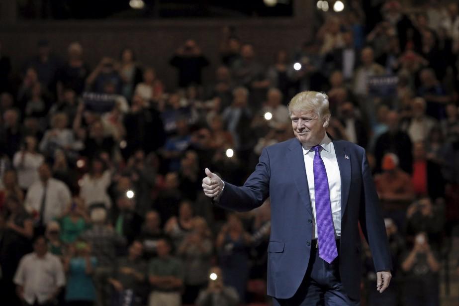 Donald Trump... (PHOTO JIM YOUNG, ARCHIVES REUTERS)
