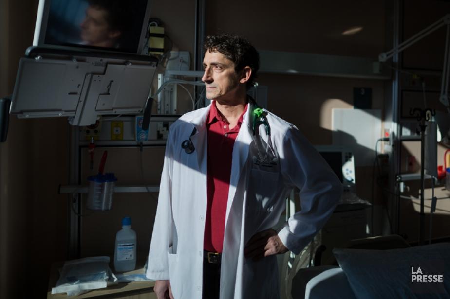 Le DrPierre Marsolais,coordonnateur du Centre de prélèvement d'organes... (PHOT ÉDOUARD PLANTE-FRÉCHETTE, LA PRESSE)