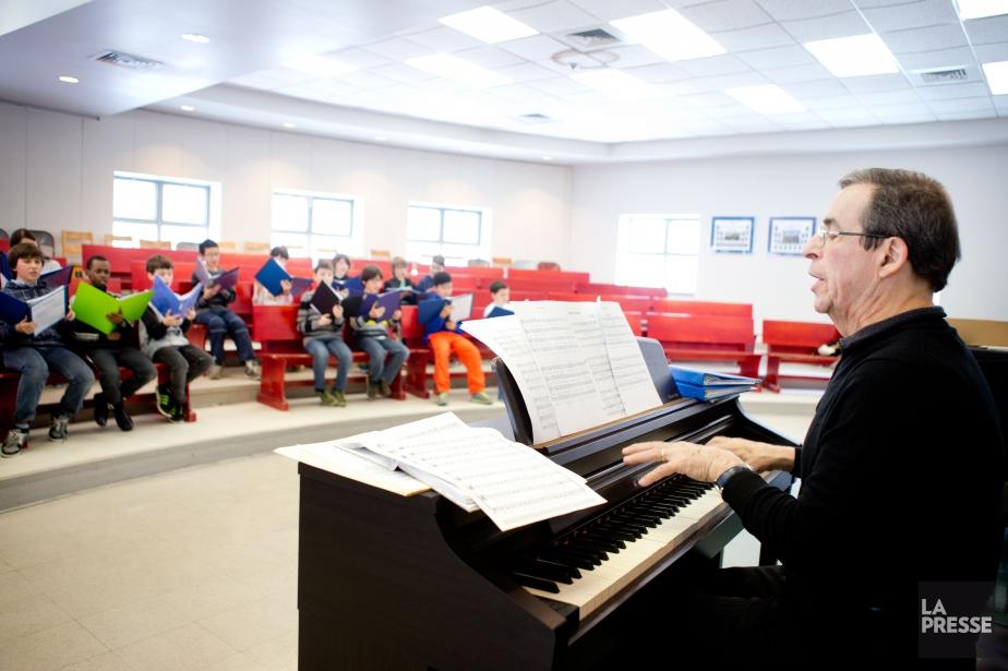 Le dernier concert de Gilbert Patenaudeau Québec à... (PHOTO MARCO CAMPANOZZI, LA PRESSE)