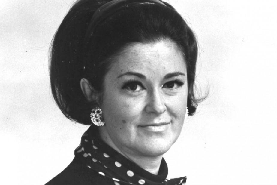 Claire Kirkland-Casgrain, photographiée en 1970.... (Photo Archives La Presse Canadienne)