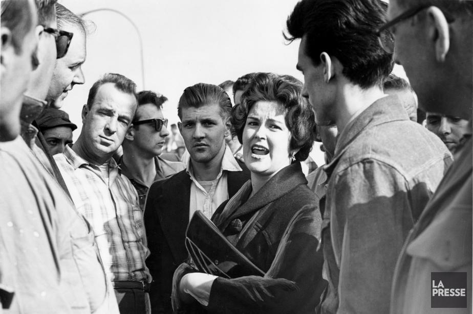 Claire Kirkland-Casgrainest devenue, en 1961, la première femme... (PHOTO ROGER ST-JEAN, ARCHIVES LA PRESSE)