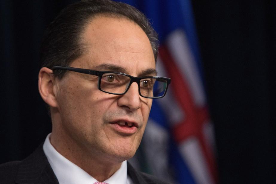 Le ministre des Finances de l'Alberta, Joe Ceci.... (PHOTO AMBER BRACKEN, LA PRESSE CANADIENNE)