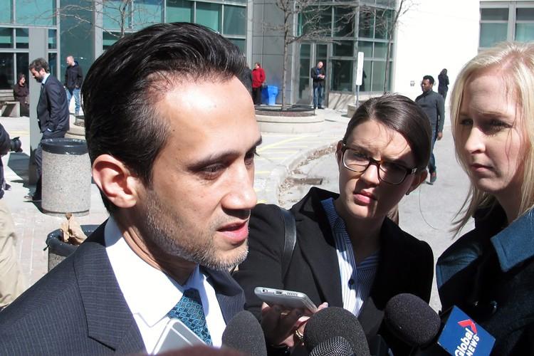 L'avocat de la défense, Anser Farooq, a affirmé... (PHOTO PC)