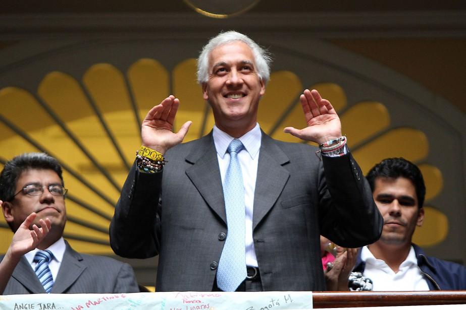 Samuel Moreno avait été élu en 2007 à... (PHOTO FELIPE CAICEDO, ARCHIVES AGENCE FRANCE-PRESSE)