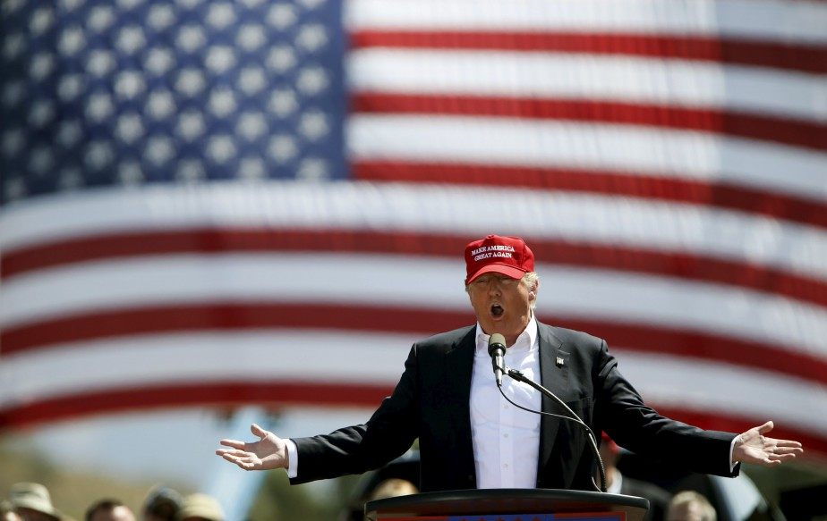 Durant les primaires, l'homme d'affaires milliardaire Donald Trump,... (Photo Mario Anzuoni, Reuters)