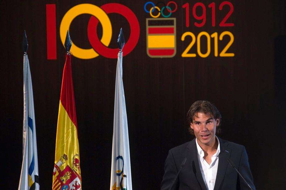 RafaelNadal devait être le porte-drapeau de l'Espagne aux... (Photo Juan Medina, archives Reuters)