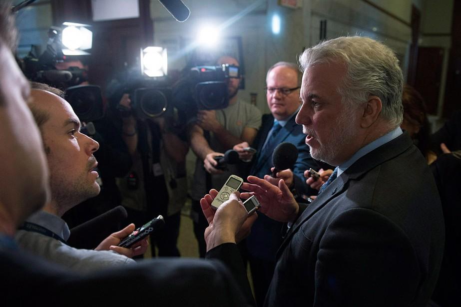 Sans l'avoir connu personnellement, le premier ministre a... (Photo Jacques Boissinot, PC)