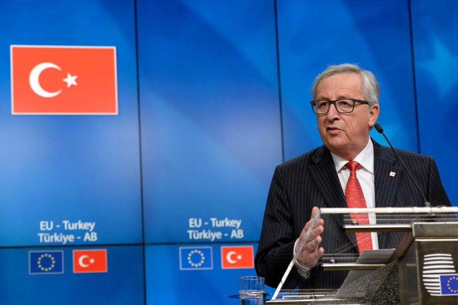Le président de la Commission européenne,Jean-ClaudeJuncker.... (PHOTO THIERRY CHARLIER, ARCHIVES AGENCE FRANCE-PRESSE)