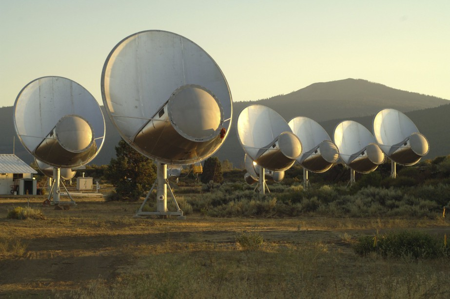 Le Allen Telescope Array, observatoire situé en Californie,... (PHOTO INSTITUT SETI VIA ARCHIVES REUTERS)