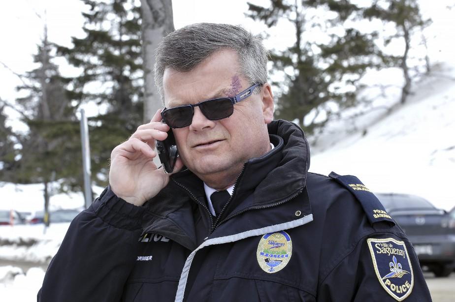 Le porte-parole de la Sécurité publique de Saguenay Bruno Cormier (Photo Le Quotidien, Rocket Lavoie)