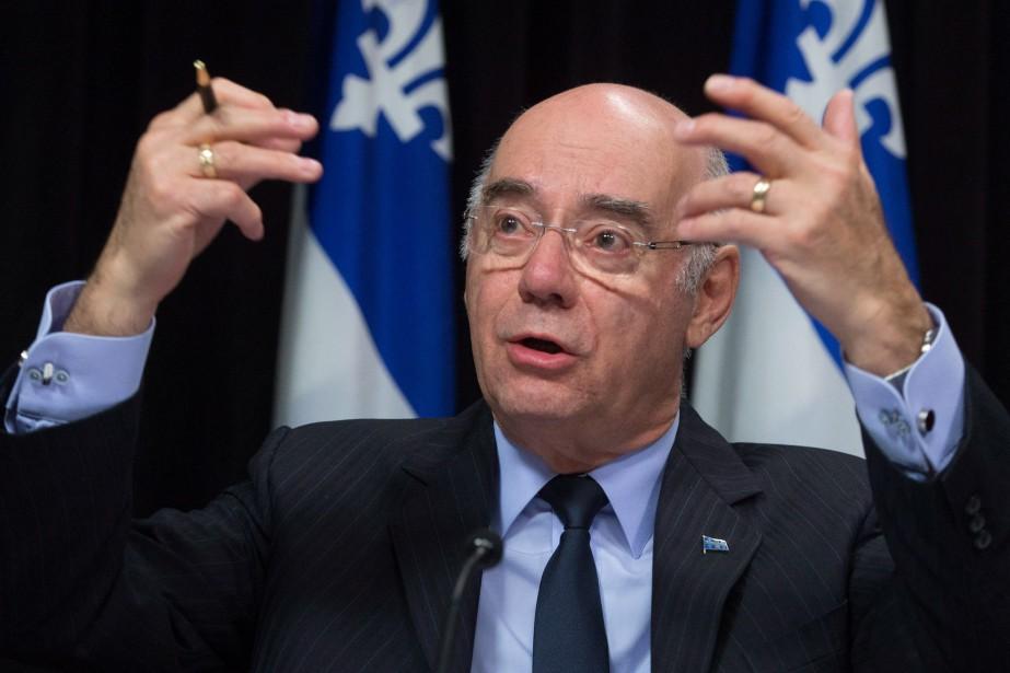 Le ministre des Transports, Jacques Daoust.... (PHOTOPC)