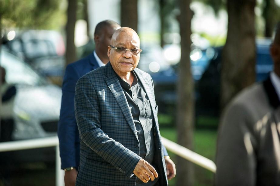 Le président sud-africain Jacob Zuma.... (PHOTO MUJAHID SAFODIEN, ARCHIVES AFP)