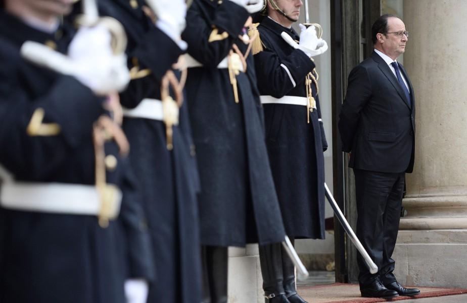 Le président de la France, François Hollande, a... (PHOTO STÉPHANE DE SAKUTIN, AP)
