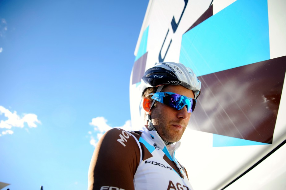 Hugo Houle... (photo Yves Perret, fournie par AG2R LA MONDIALE)