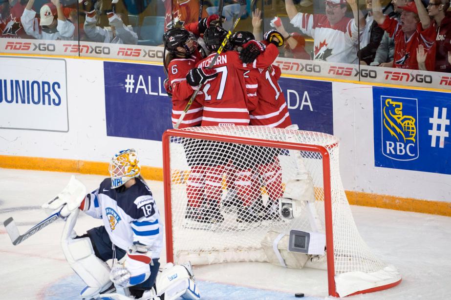 Le Canada a remporté une victoire de 6-1... (Photo Ryan Remiorz, PC)
