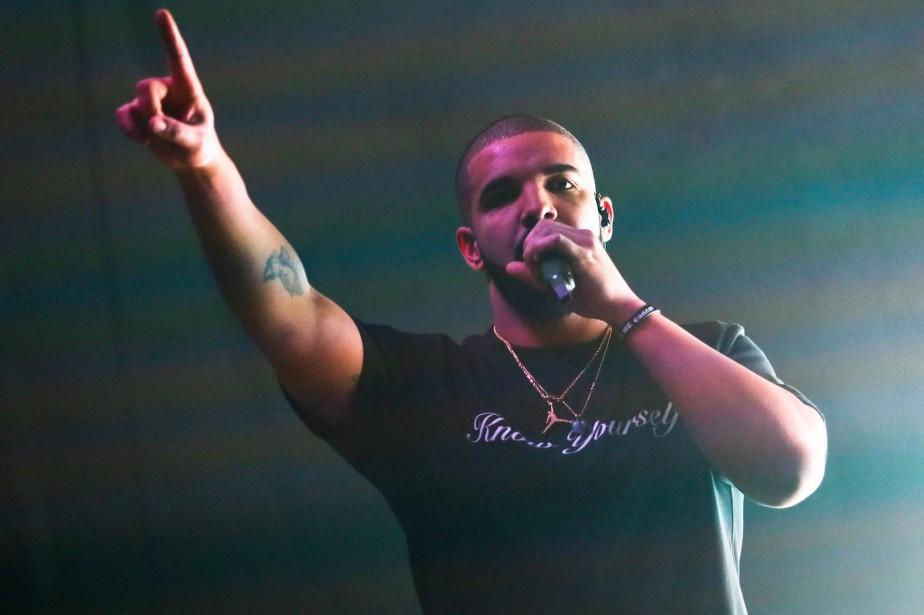 Drake... (PHOTO ARCHIVES AP)
