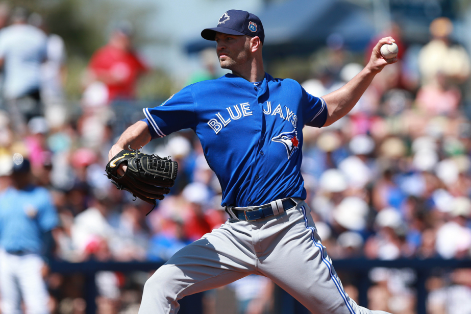 Les Blue Jays de Toronto ont réacquis le lanceur... (Photo Kim Klement, USA Today)