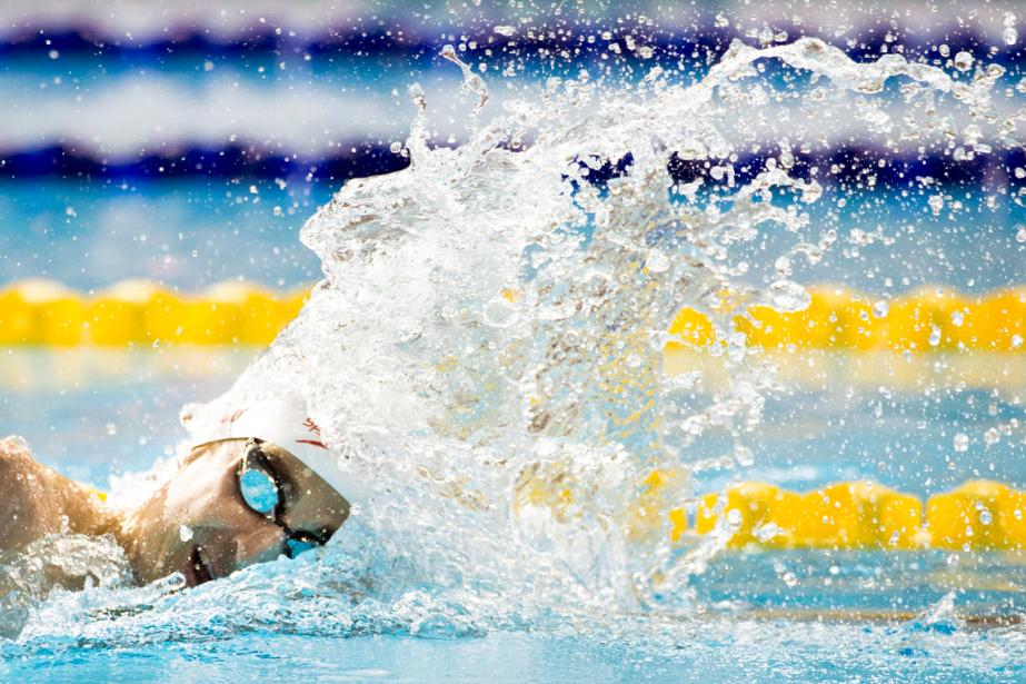 Le nageur Benoît Huottentera de se qualifier la... (Photo Darren Calabrese, archives PC)