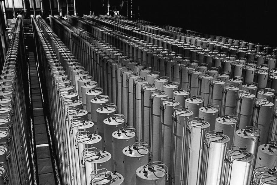 Du matériel servant à enrichir de l'uranium, en... (Photo archives The New York Times)