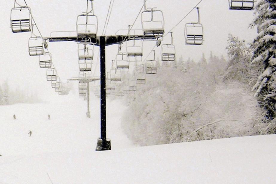 Un jeune skieur a été retrouvé inconscient dans un ruisseau d'un... (Photo AP)