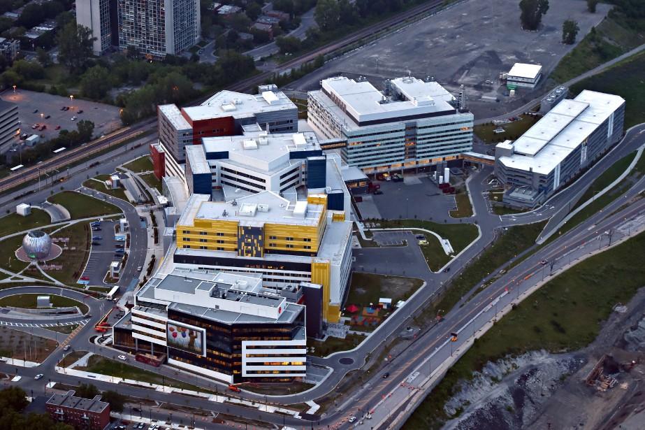 Le projet du Centre universitaire de santé McGill... (PHOTO BERNARD BRAULT, ARCHIVES LA PRESSE)