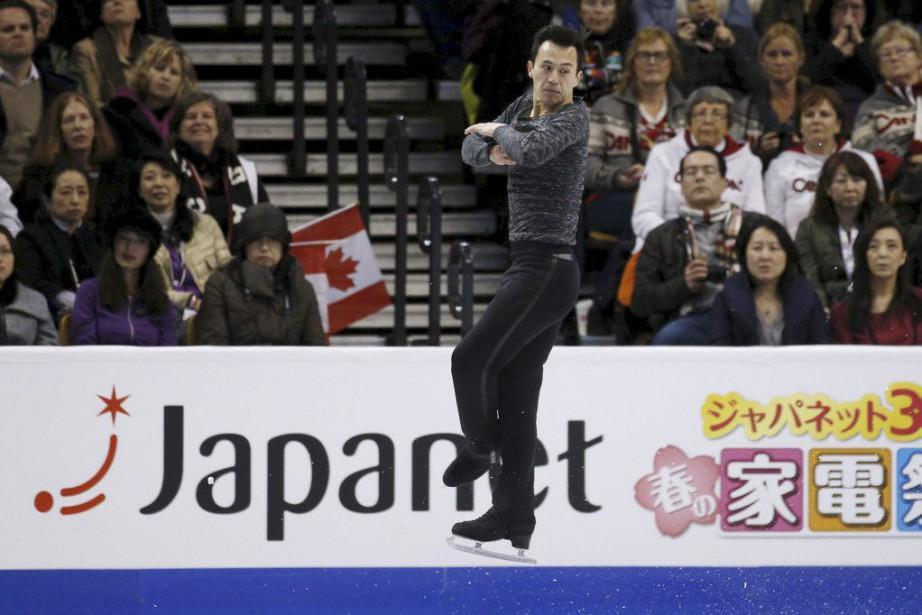 PatrickChan effectuait un retour à la compétition cette... (PHOTO BRIAN SNYDER, REUTERS)