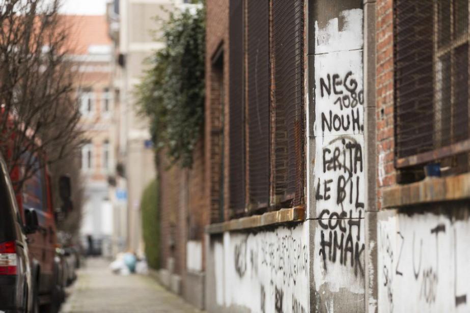 Molenbeek, commune populaire d'où sont originaires certains des... (PHOTO THIERRY MONASSE, AFP)