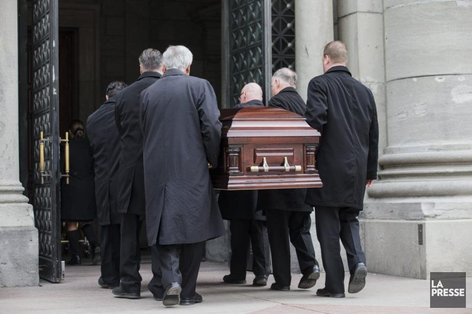 Les obsèques de Claire Kirkland-Casgrainont été célébrées à... (PHOTO EDOUARD PLANTE-FRECHETTE, LA PRESSE)