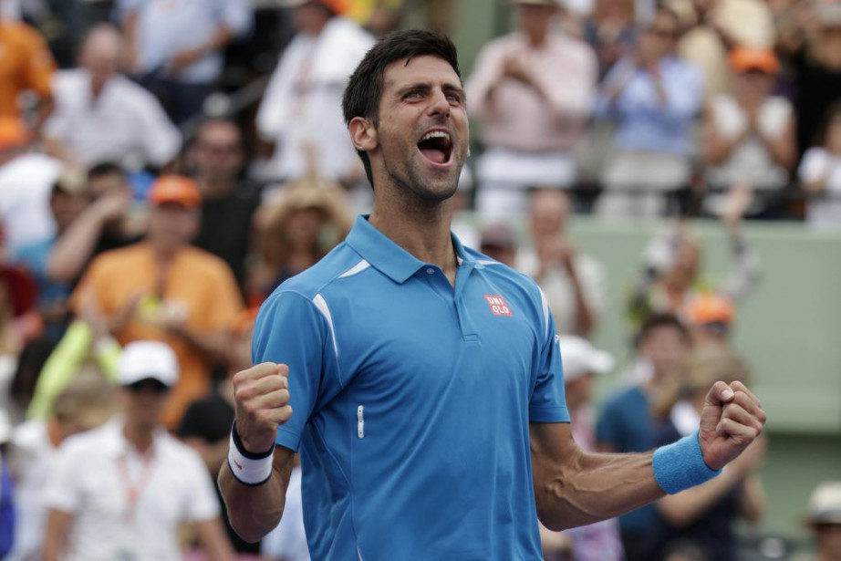 Novak Djokovica décroché son troisième titre de l'année,... (PHOTO LYNNE SLADKY, AP)