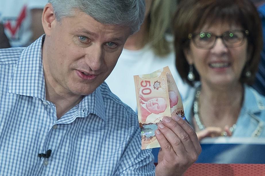 En moyenne, les candidats conservateurs ont dépensé 90... (Photo archives La Presse Canadienne)