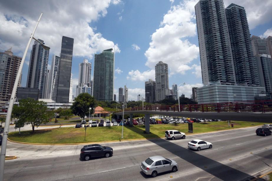 La ville de Panama.... (PHOTO AFP)