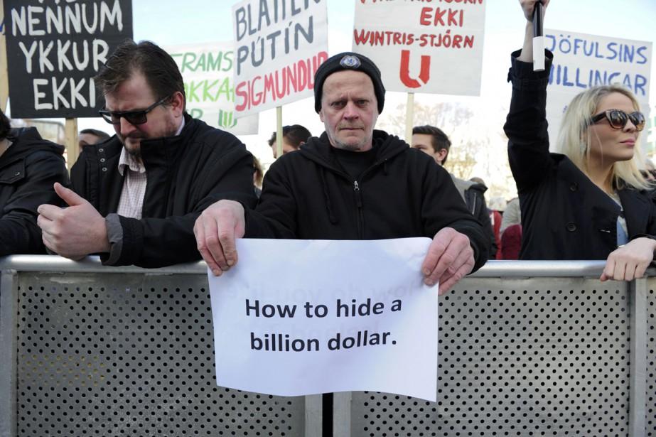 Le premier ministre islandais, qui aurait créé une... (Photo Reuters)